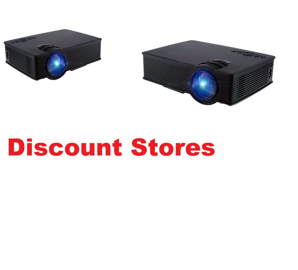 Home Movie Cinema Theater Outdoor Indoor LED Projector 1080P ...