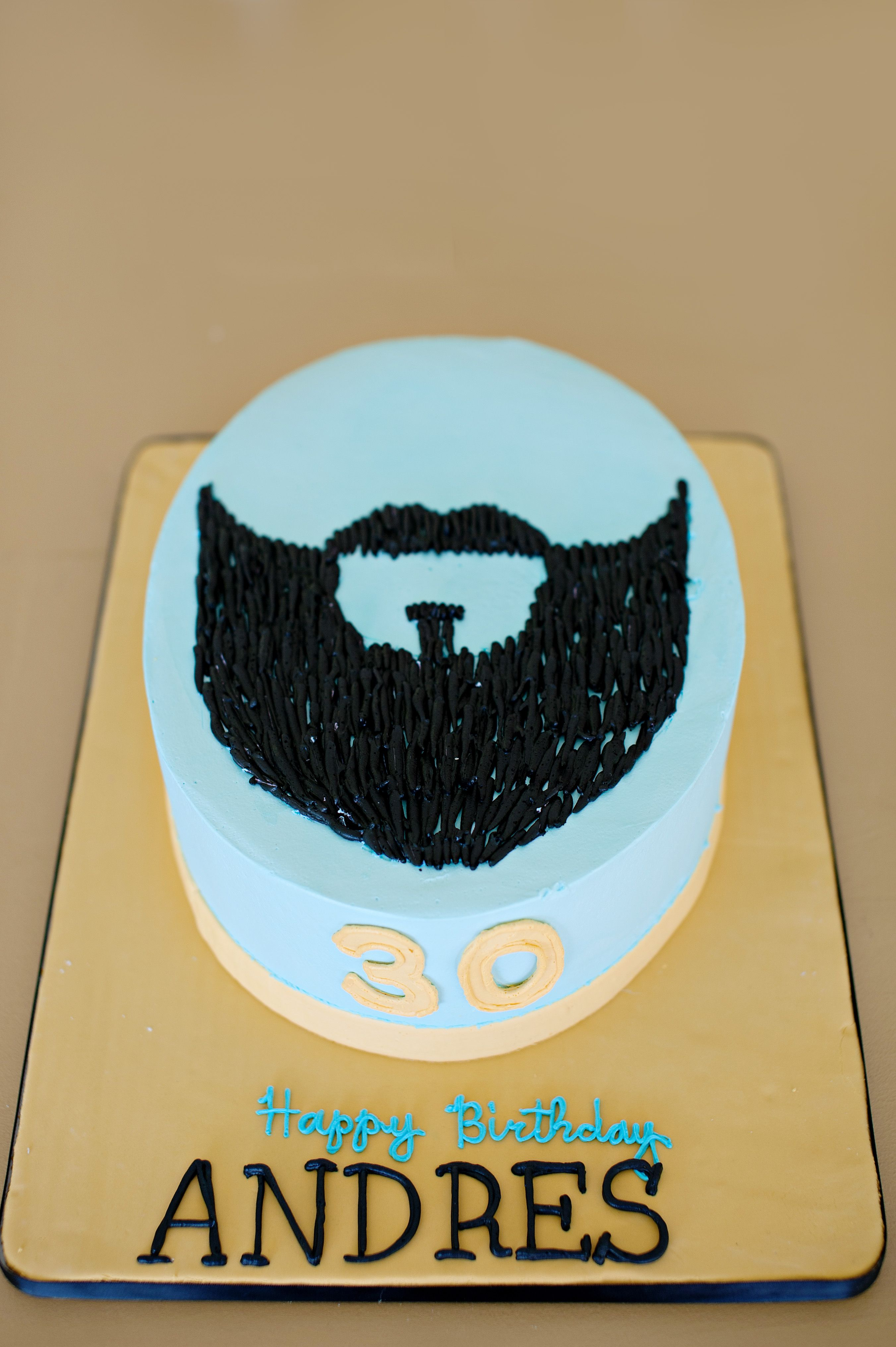 Beard Cake This Matched The Invitation Perfectly Cake