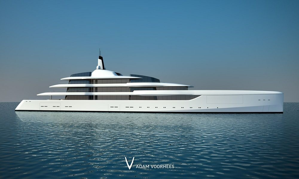 Superyachten concept  Remarkable Lumen Superyacht Concept by Adam Voorhees 1 | Travel ...