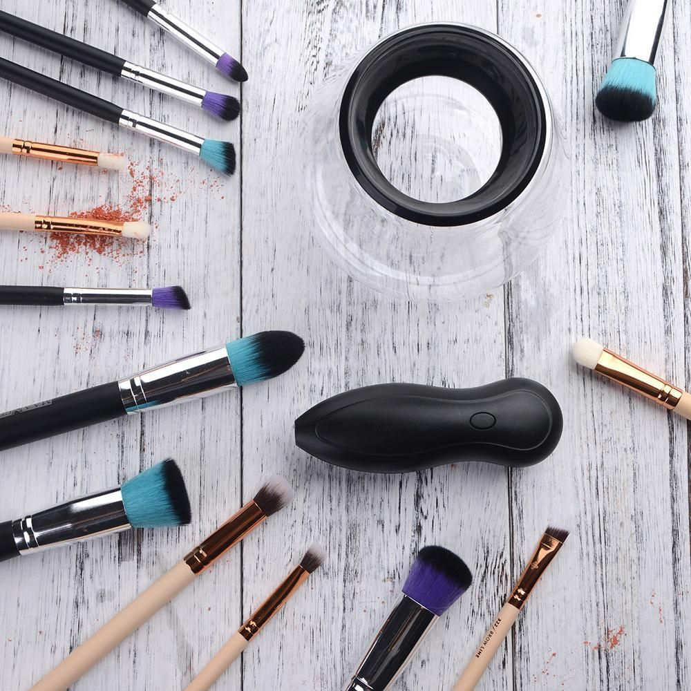 Electric MakeUp Brush Cleaner and Dryer Makeup brush