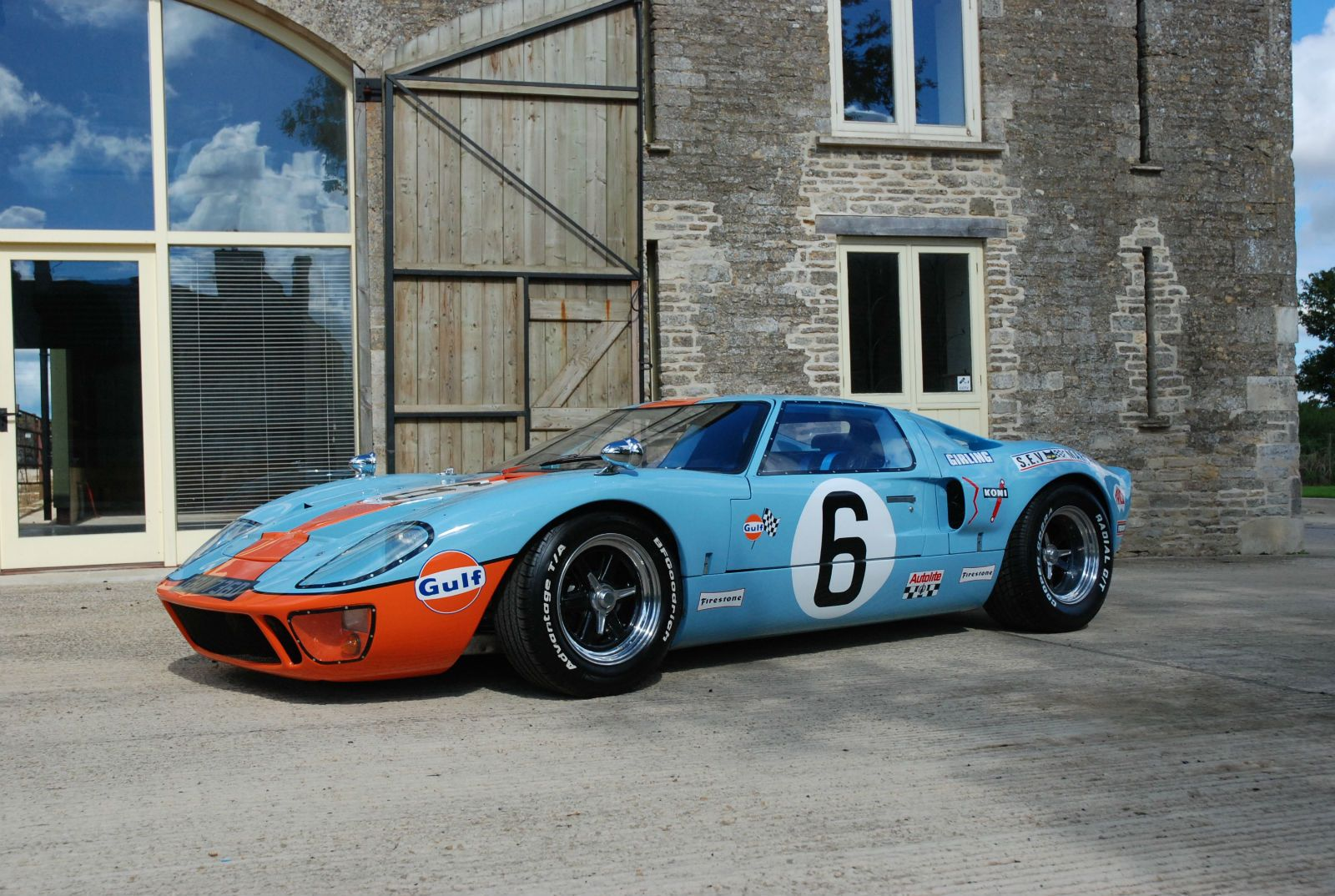 Ford Gt Jacky Ickx Gt Gulf Colours Sold