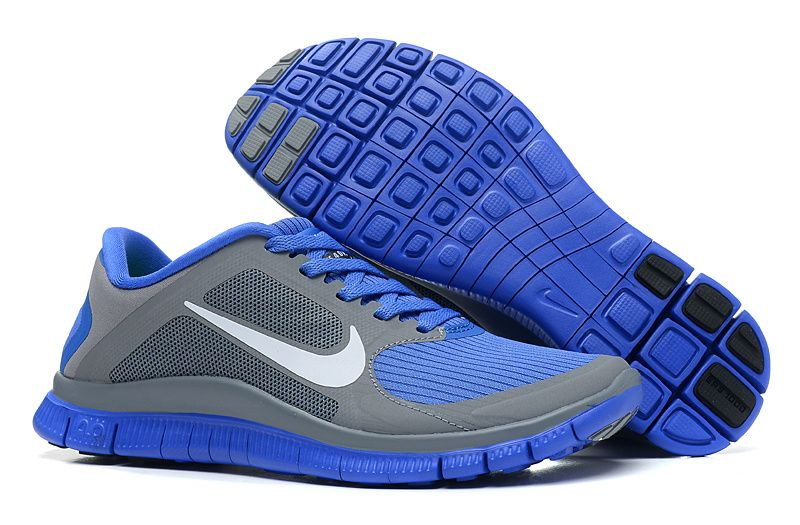 quality design 03fca 7999c Cheap Nike Free 4.0 V3 Cool Grey White Violet Force Women s Running Shoes