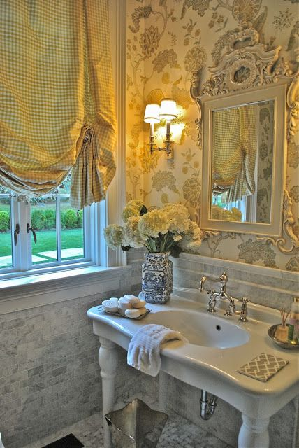 beautiful guest bath