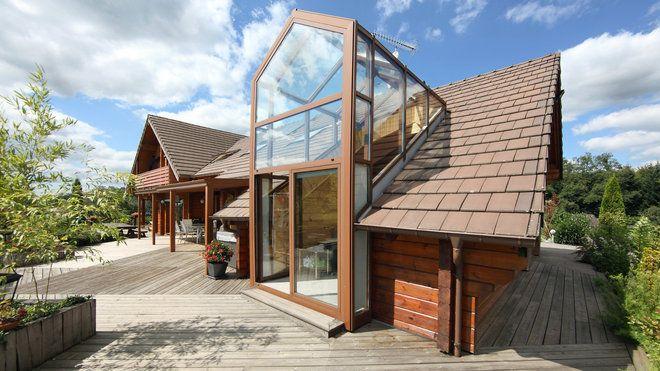 Les maisons en bois Oregon su0027installent partout en France PLAN de