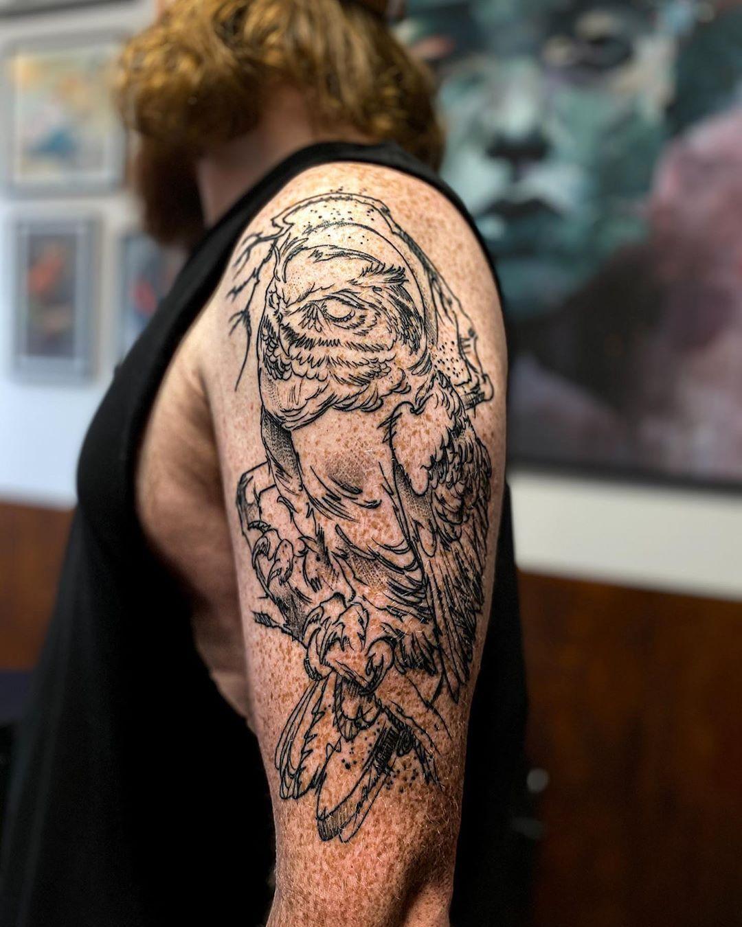 @peter__hessel tak for endnu en dag og endnu et fedt projekt ..Done at @cphnoir@intenzetattooink @inkeeze @fkirons @davincineedles @leadthefollowers #sleevetattoo #sleeve #tattoodo #savemyink #inkedmag #inkjunkeyz #inkedmag #tattoorealistic #tattoistartmag #silverbackink #inkeeze #killerink #killerinktattoosupplies #inkig #sullenclothing #justblackink #tattooartists #tattedskiny #tattoos #tattoo #artist #realisticink #tattoolifemagazine #skinartmag #thebestbngtattooartists #theblackandgreytattoo
