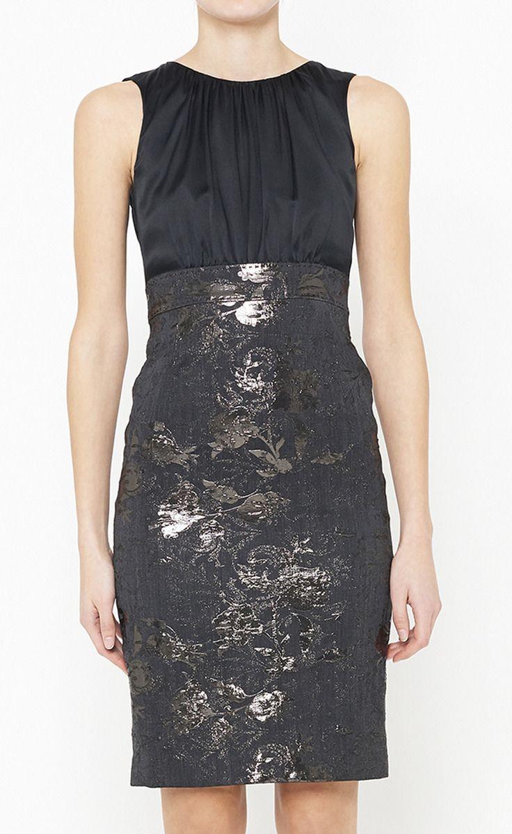Elie Tahari Black Dress Fashion Sweet Clothes Elegant Outfit [ 1200 x 736 Pixel ]