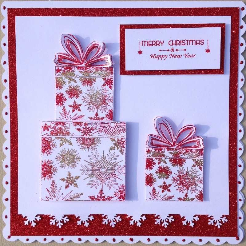 Honey Doo Crafts Acrylic Stamps - Sample Gallery Christmas cards - christmas cards sample