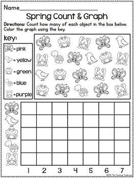 spring kindergarten pack no prep ccss aligned kindergarten kolleagues kindergarten math. Black Bedroom Furniture Sets. Home Design Ideas