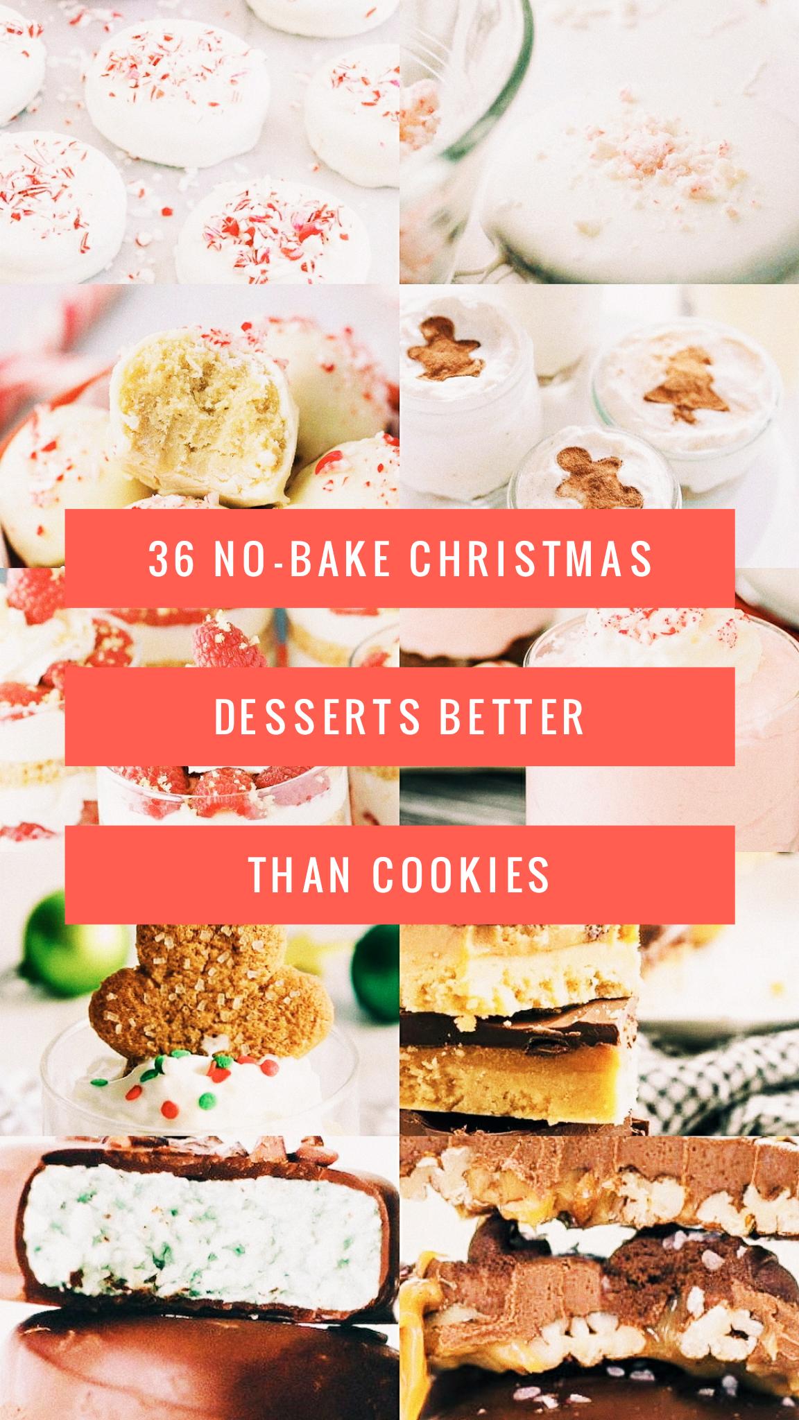 36 No-Bake Christmas Desserts Better Than Cookies   Christmas ...