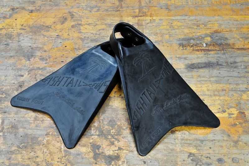 Vintage Fish Tail Scuba Swim Flippers