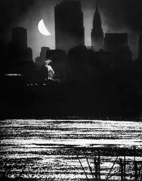 Manhattan at midnight