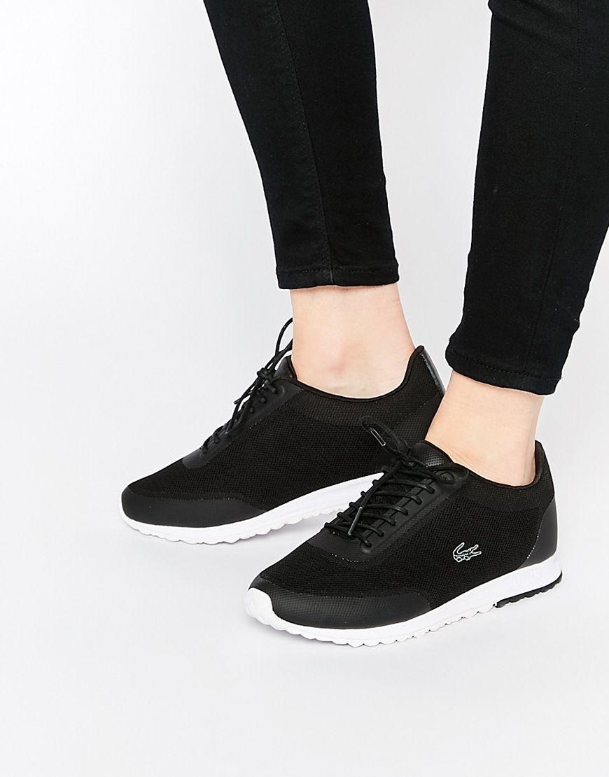 0c70d9a89dda Bild 1 von Lacoste – Helaine Runner 3 – Schwarze Sneakers
