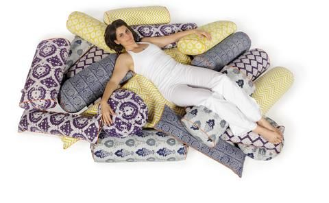 chattra yoga bolsters  pranayama cushions  chattra