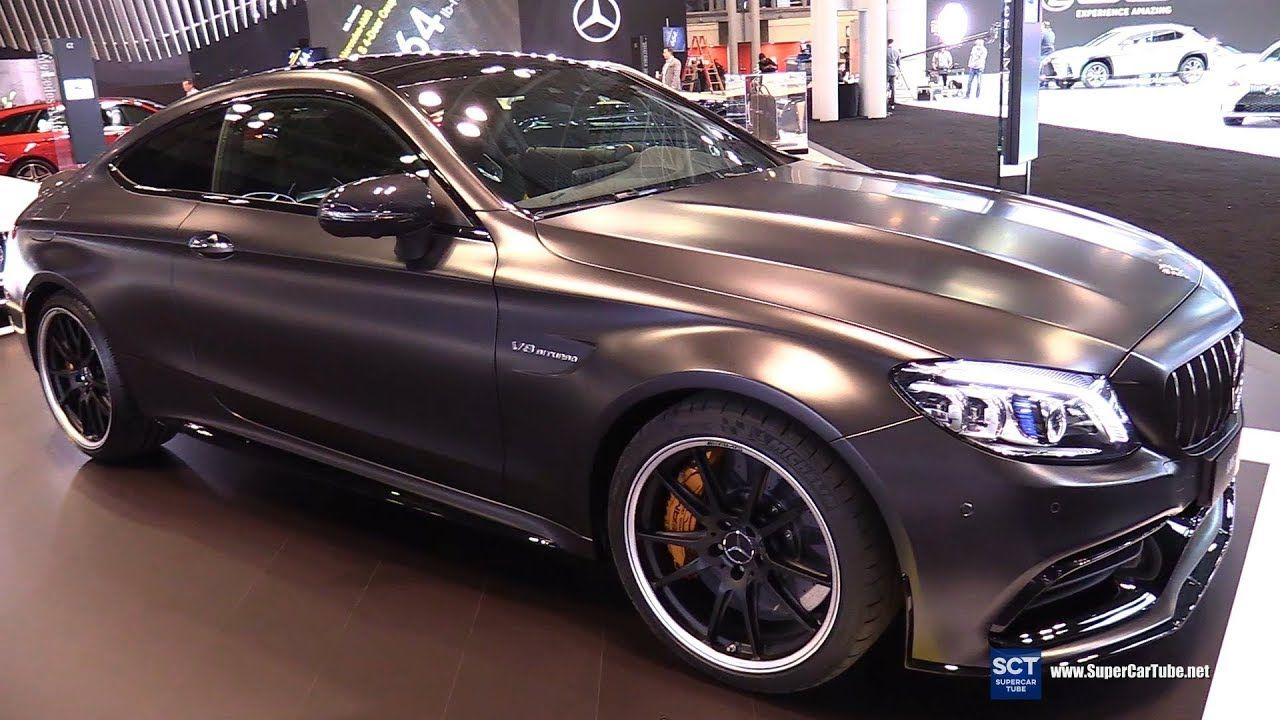 2018 Mercedes Amg C63 S Coupe Exterior And Interior