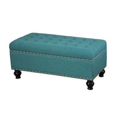 Style Craft Tufted Storage Ottoman Reviews Wayfair