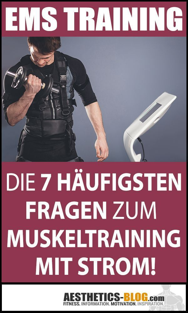 EMS Training - was genau ist das eigentlich? #EMS bedeutet Elektrostimulation, also #Muskelaufbau du...