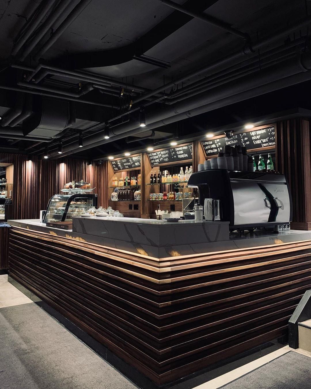 Olimpico Downtown Montreal Luxury Cafe Coffee Shop Interior Design Coffee Bar Design