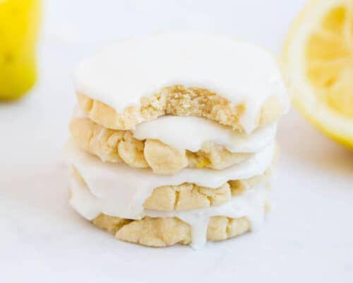 Glazed Lemon Cookies - I Heart Naptime