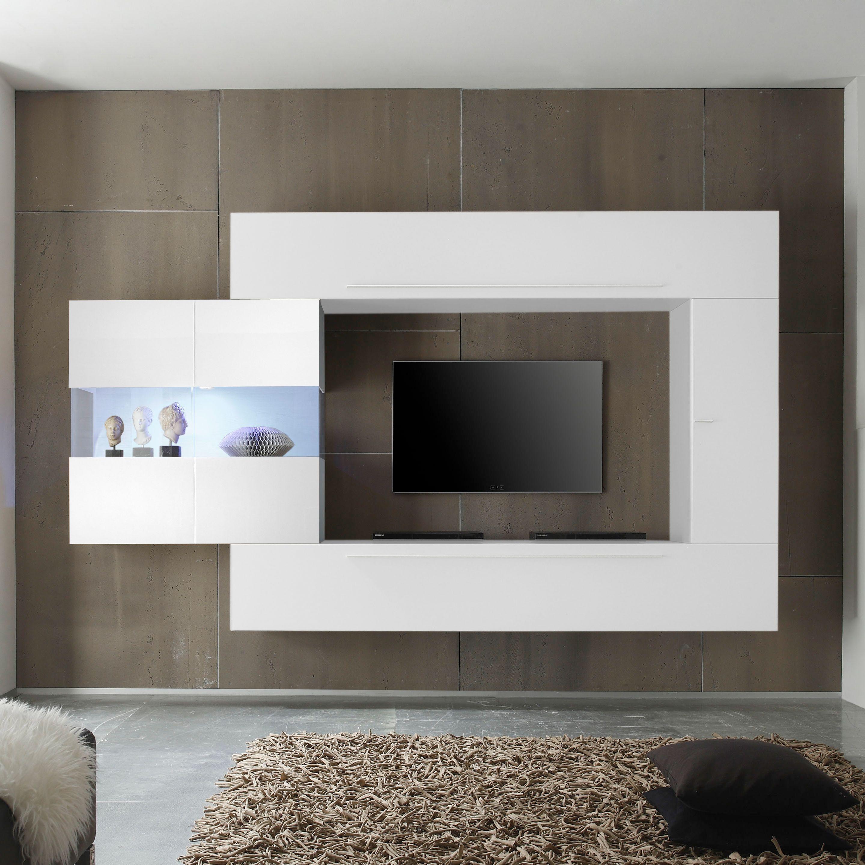 wohnwand elemente latest beliebt sparen wohnwand punch tlg von california nur zum wohnwand. Black Bedroom Furniture Sets. Home Design Ideas
