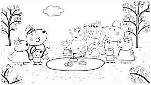 Resultado De Imagen Para Dibujos De Animales De Peppa Pig Para Colorear
