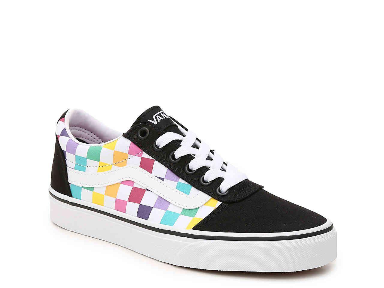 Vans Ward Lo Party Check Sneaker
