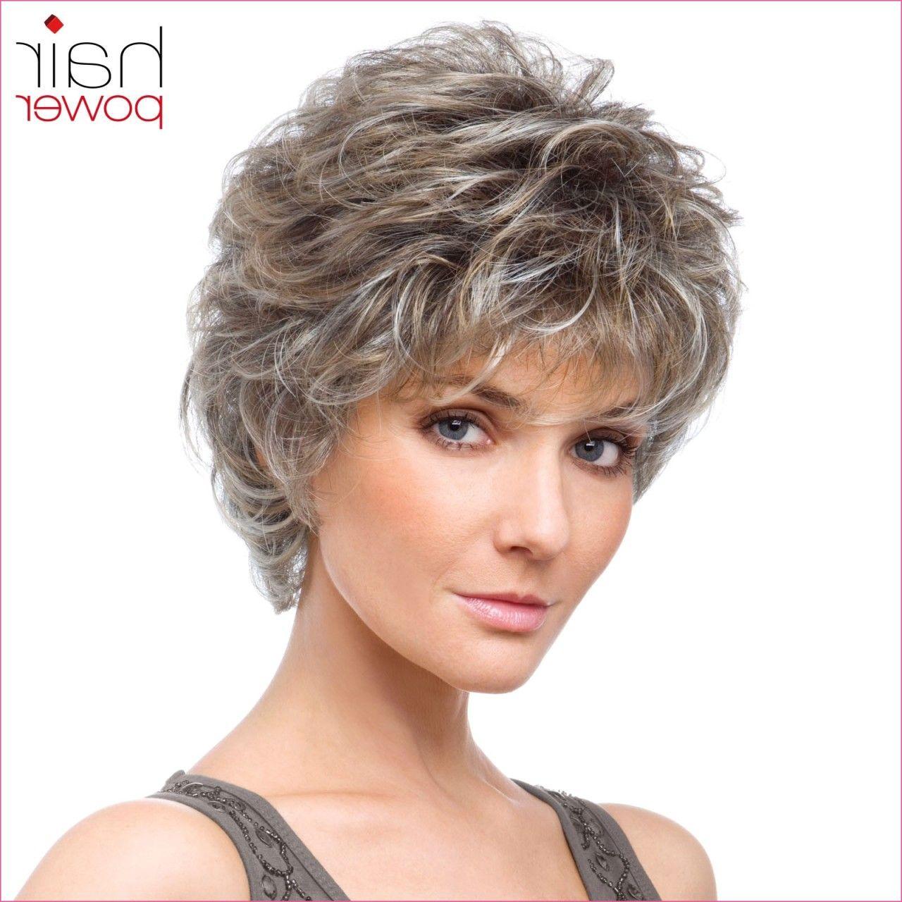 Fresh Frisuren Graue Haare Locken Short Hair Styles Easy Hair Styles Womens Hairstyles