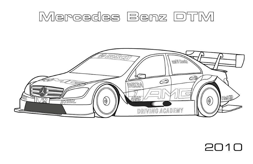 Mercedes Coloring Pages | Ausmalbilder, Ausmalen und ...