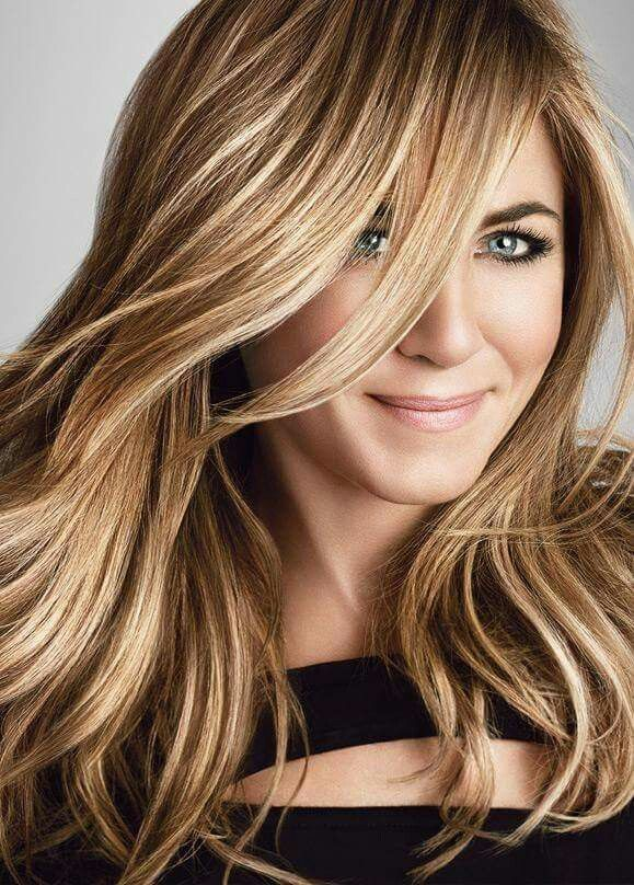 Jennifer Aniston ❤ Balayage
