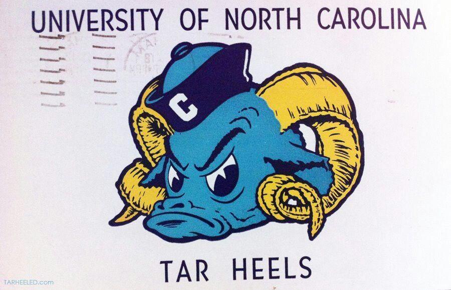 Old School Unc Tarheels Unc Logo North Carolina Basketball