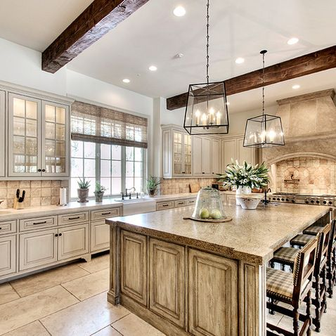 Off White Kitchen Cabinets Design Ideas, Pictures, Remodel ...
