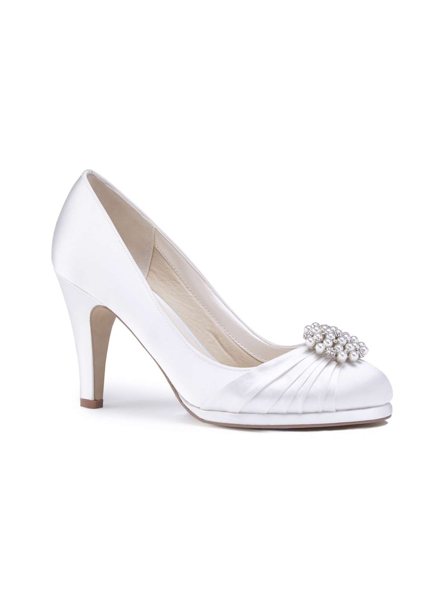 Paradox London Pink Amaia High Heel Platform Court Shoes | Pinterest ...