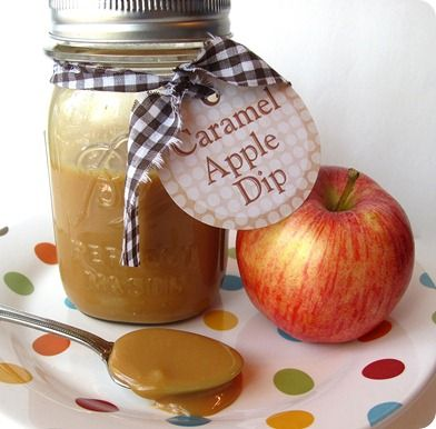 how to make caramel dip for apples