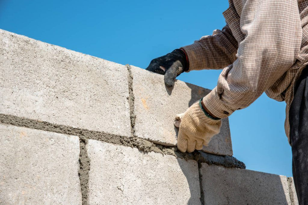 Cost To Install A Concrete Block Wall In 2020 Inch Calculator Concrete Block Walls Concrete Blocks Block Wall
