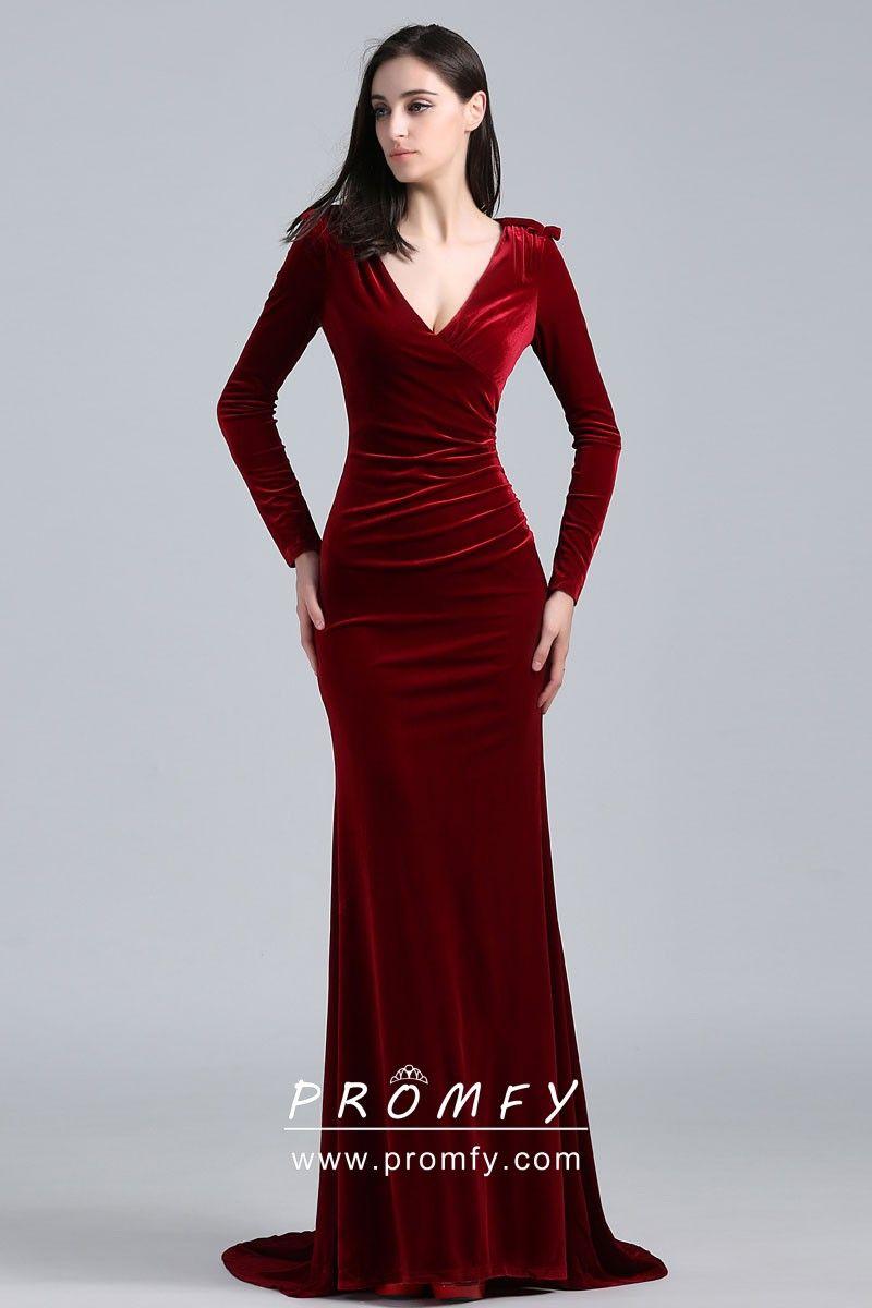 10++ Velvet dress long sleeves info