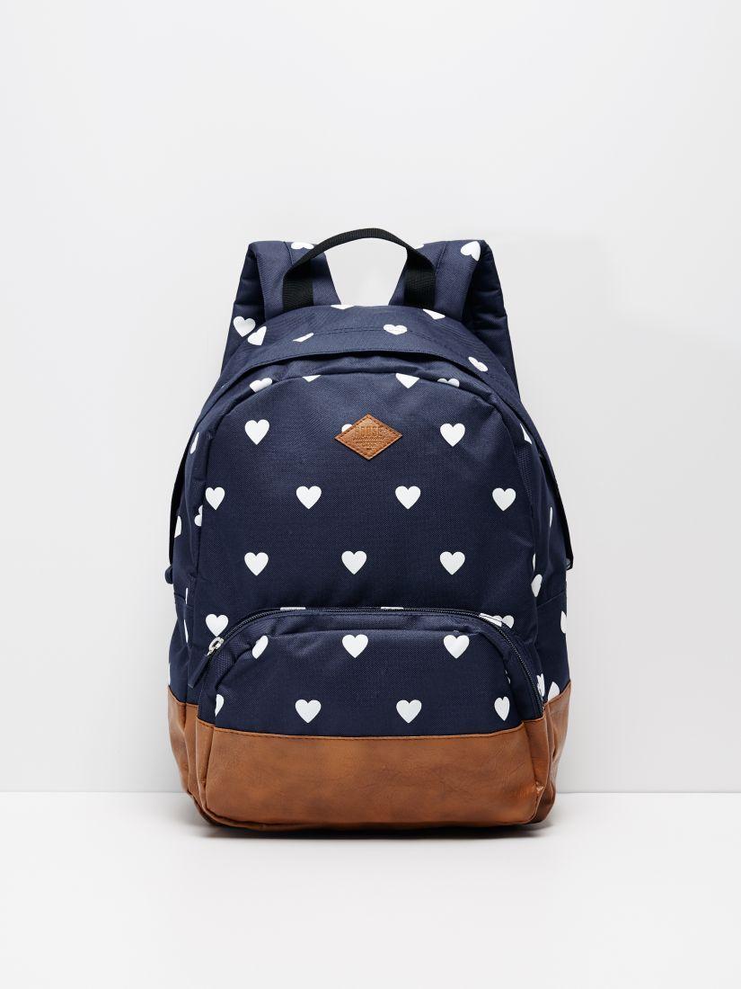 Plecak Z Nadrukiem House Fashion Backpack Bags Rucksack