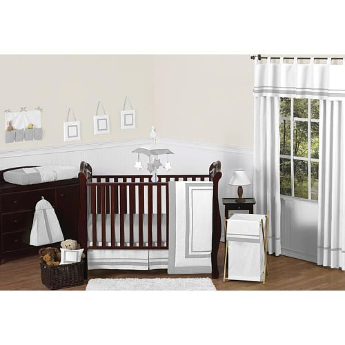 Sweet Jojo Designs Hotel White And Gray Collection Beckett S
