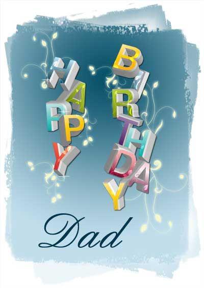 Dad Birthday Cards myfreeprintablecards – Printable Father Birthday Cards