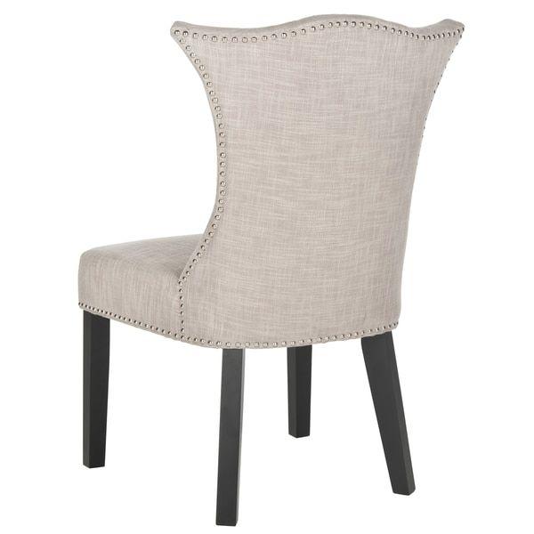 $343 Safavieh En Vogue Dining Ciara Grey Side Chairs (Set Of 2)