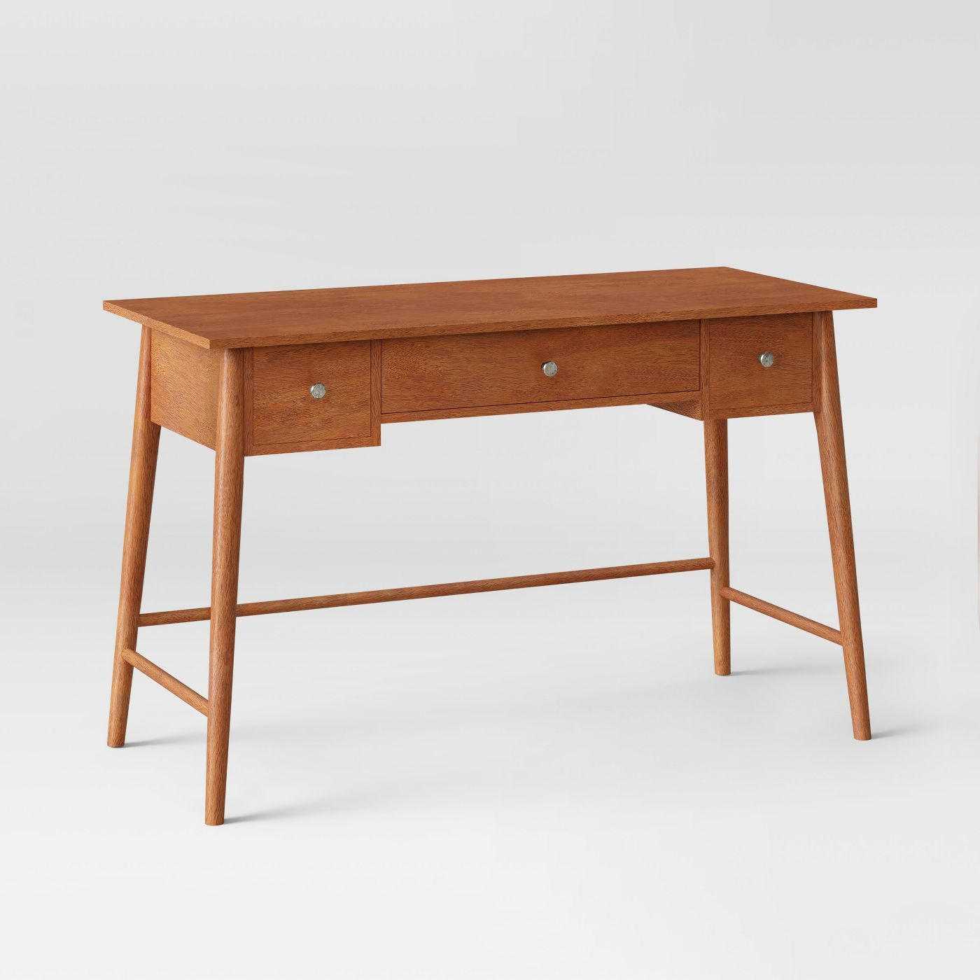 Amherst Mid Century Modern Writing Desk Brown Project 62 In 2020 Mid Century Modern Desk Writing Desk Mid Century Desk