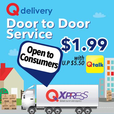 bf040724ee8 [Qxpress]Qdelivery Door to Door Service. Now Open for Consumers. Only for Local  Delivery (Singapore) [Voucher value 5.5]