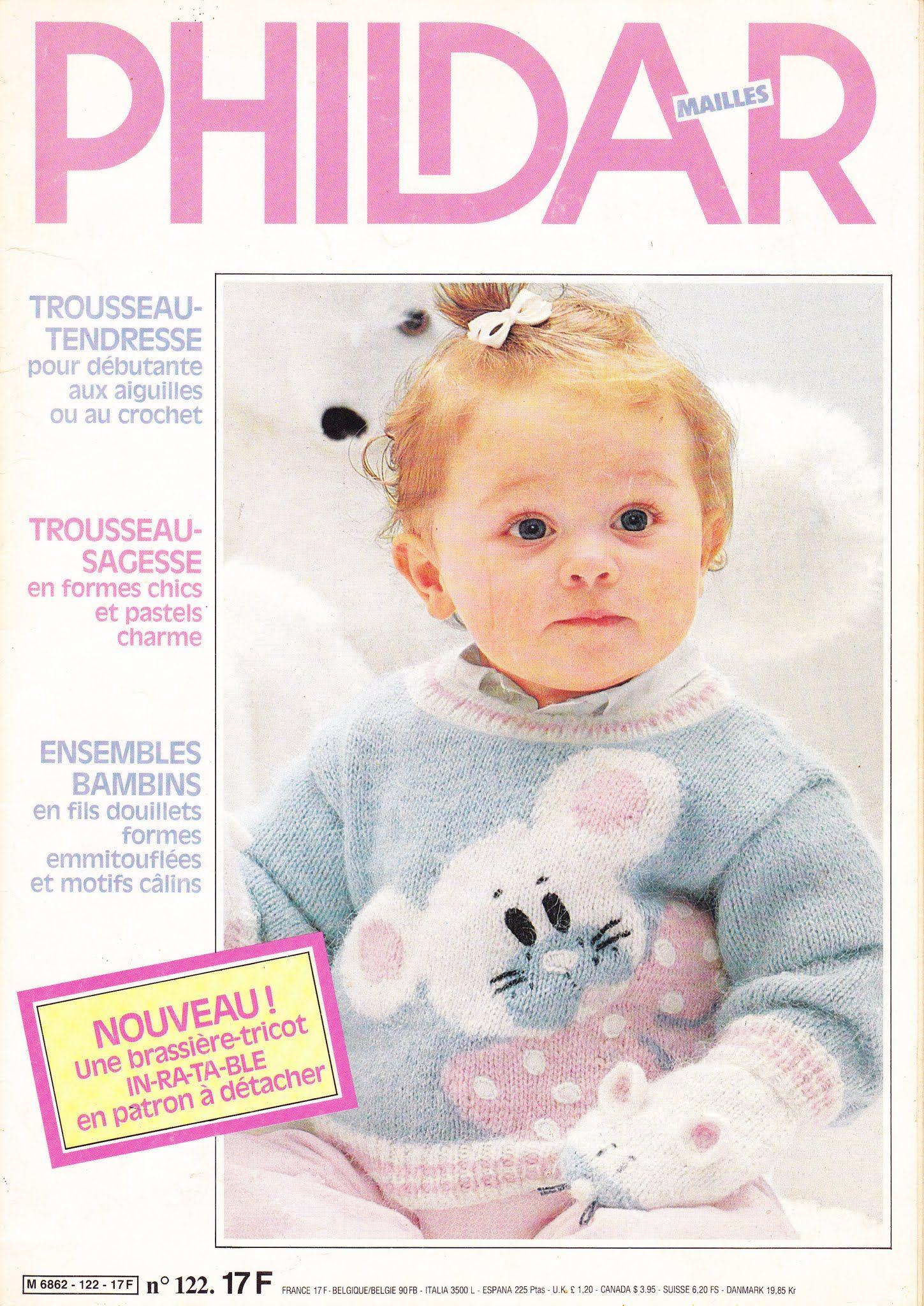 Phildar Baby Knitting Pattern Books : Phildar n?122 ok Baby Pinterest Catalog, Tricot crochet and Knitting ma...