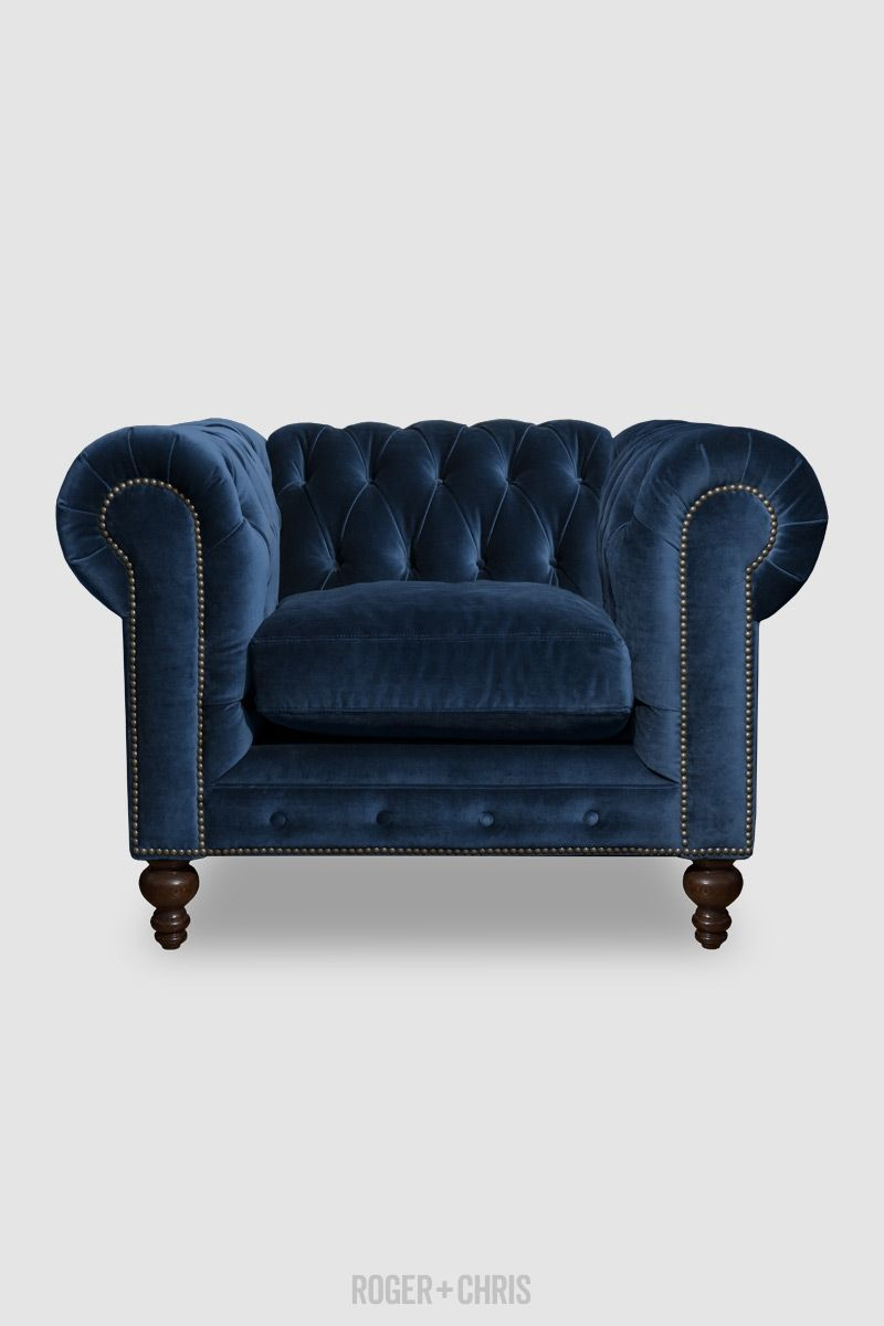 Chesterfield Sofas Armchairs Sectionals Sleepers Leather Fabric Linen Made In Usa Higgins From Rog Chesterfield Armchair Chesterfield Sofa Blue Sofa