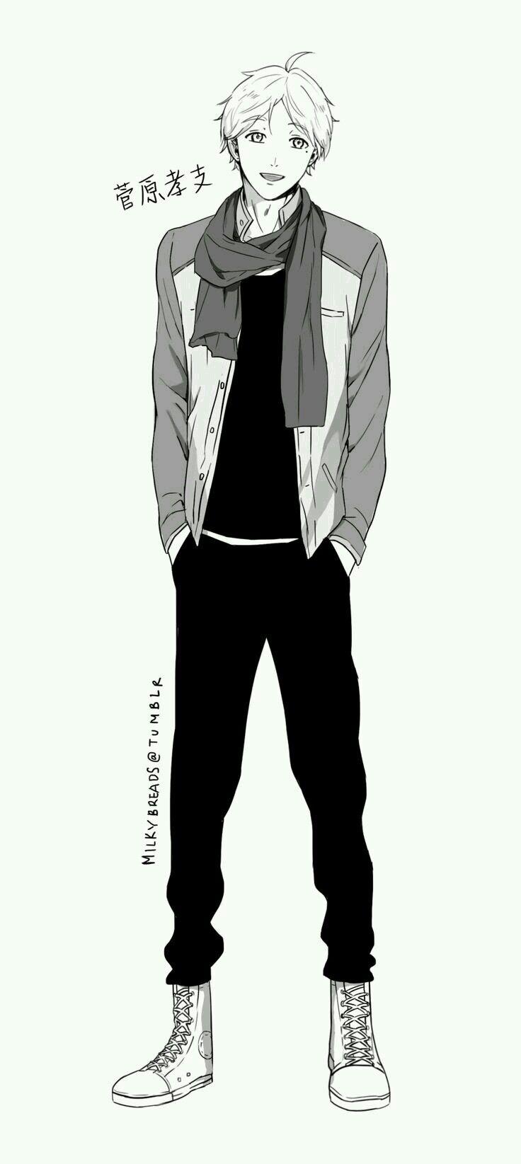 Pin By Rachel Tennyson On Clothing Casual Anime Guys Anime Haikyuu