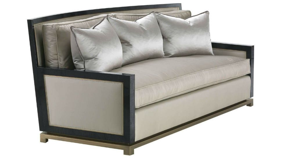 Luxdeco Orsi Bronze Sofa V Orsi This Formal Sofa Is An Uncommon
