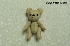 5 pulsanti Teddy Bear