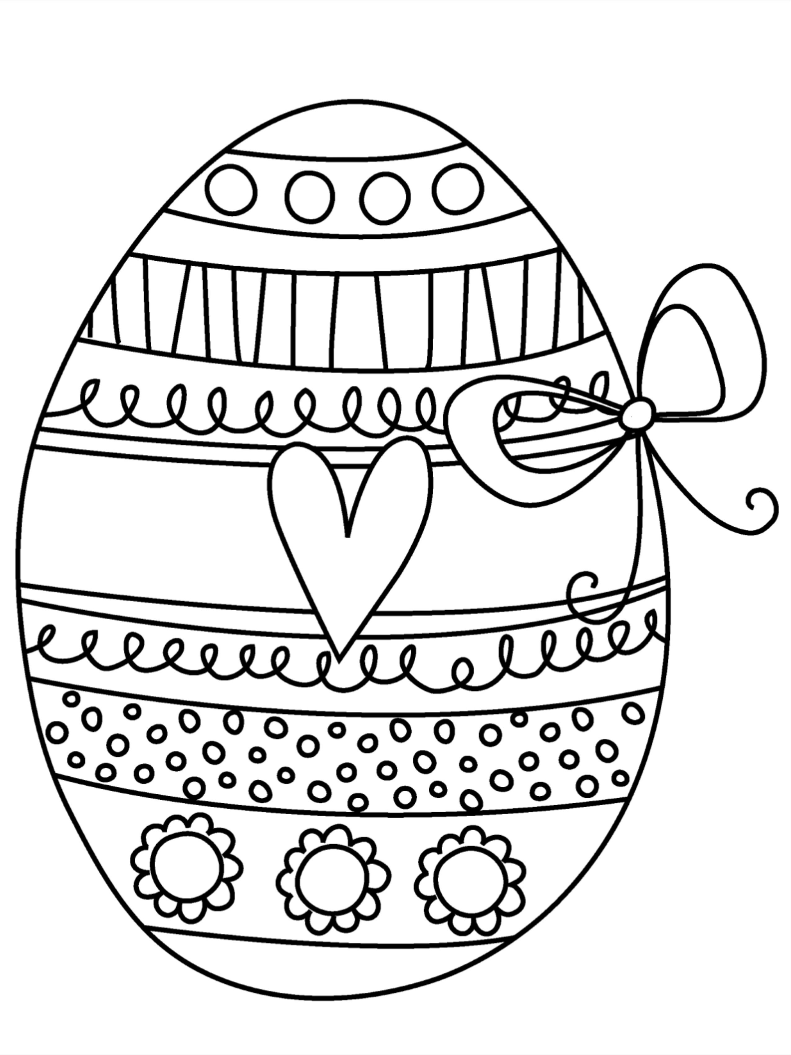 50 Easter Coloring Pages For Kids In 2021 Easter Coloring Pages Coloring Pages For Kids Easy Coloring Pages
