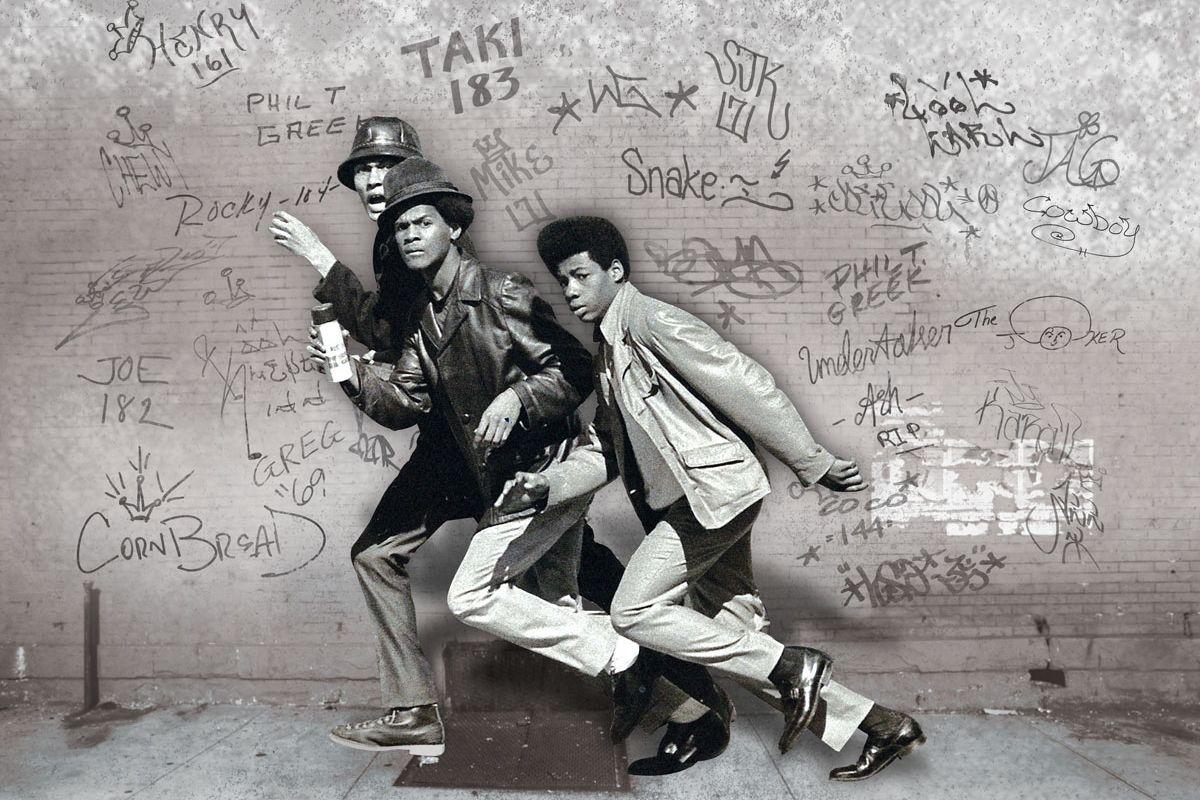 Wall writers graffiti in its innocenceu documents the pioneers of
