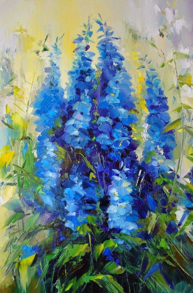 Imágenes Arte Pinturas Con Imágenes Flores Pintadas Pinturas Pintura Silueta