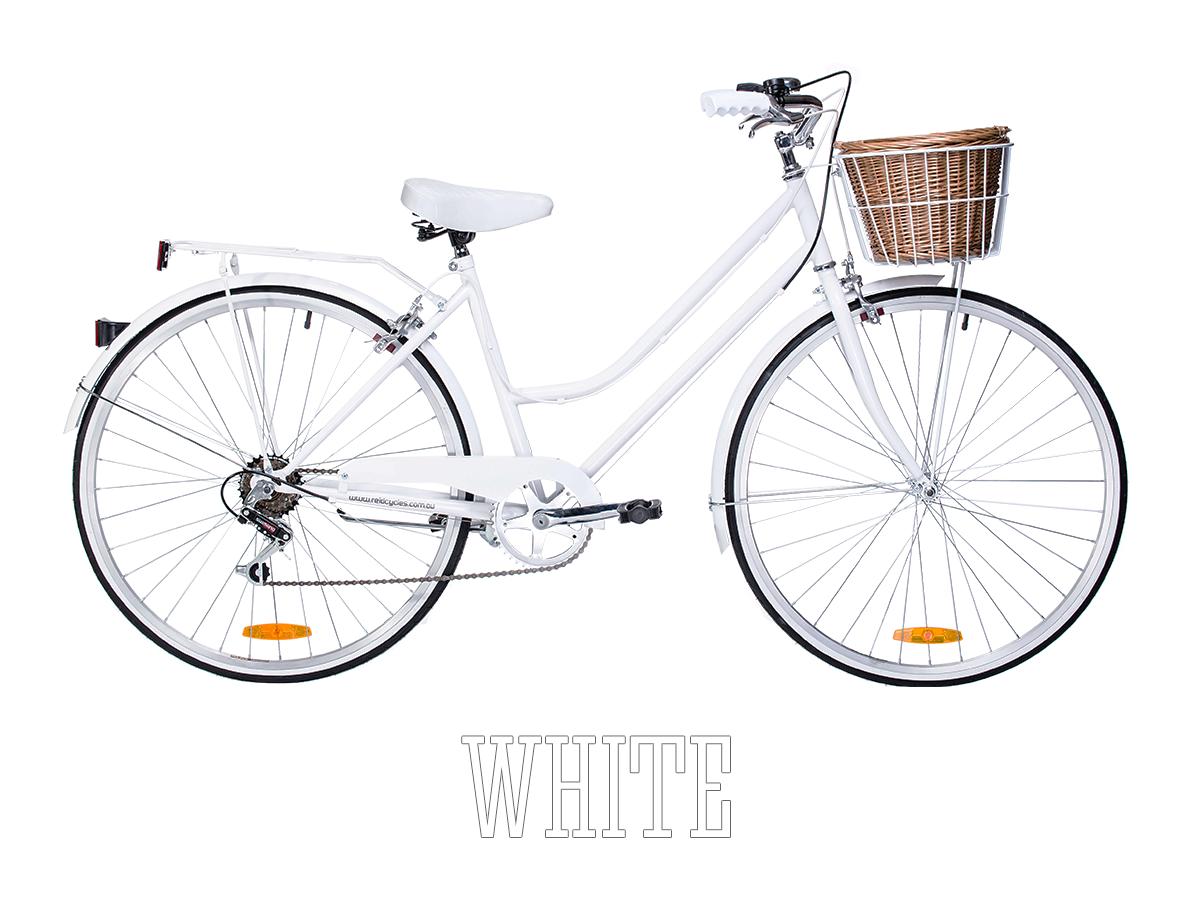 Buy Reid Vintage Ladies Bicycle 6 Speed Lifetime Warranty Vintage Ladies Bike Womens Bike Retro Bike