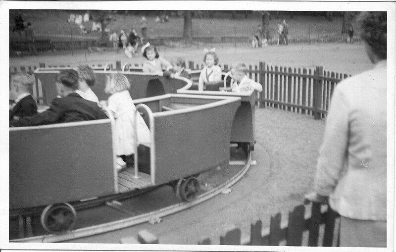 Clifton Park Rotherham 1960 Circular Train Ride Train Rides Clifton Park Rotherham